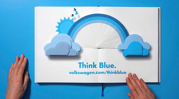 """Volkswagen lanza su nueva campaña internacional """"Think Blue. Book"""""""
