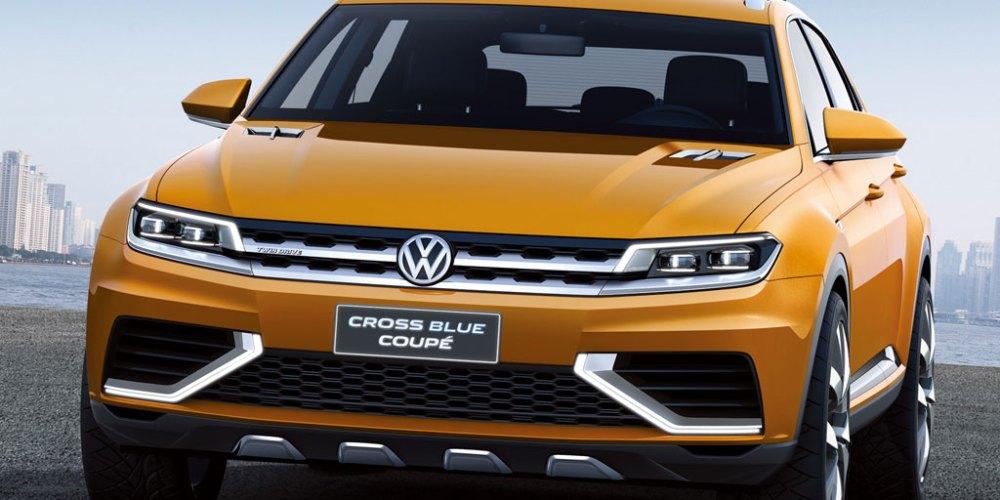 Volkswagen CrossBlue Coupé