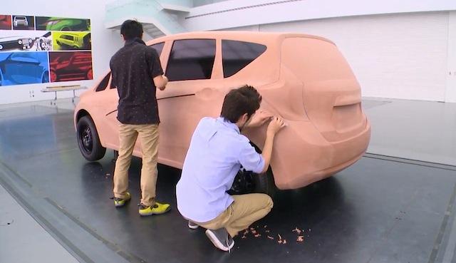 Nissan: modelado en arcilla, del boceto a la escultura