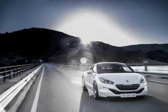 Peugeot RCZ presentación