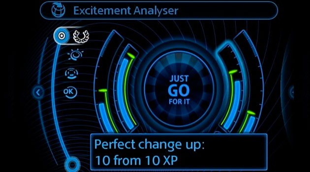 Nuevo Driving Excitement Analyser de MINI Connected