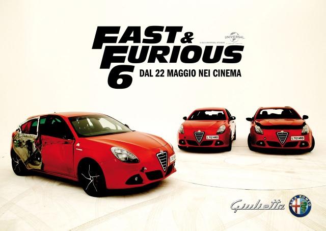 "Alfa Romeo Romeo Giulietta co-protagonista en ""Fast & Furious 6"""