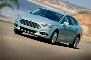 All-New Ford Fusion Hybrid