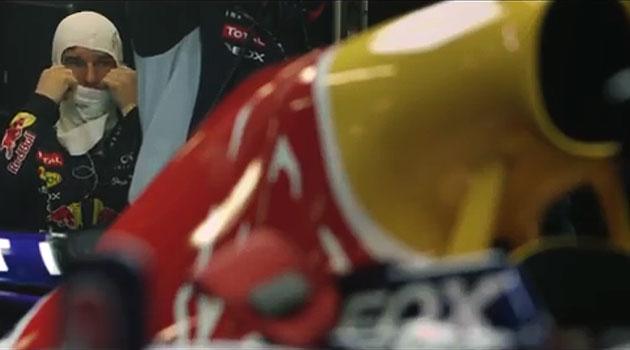 Un día de trabajo para Mark Webber