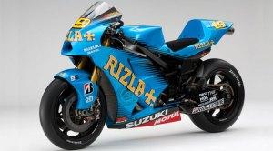 La antigua moto de Suzuki en MotoGP