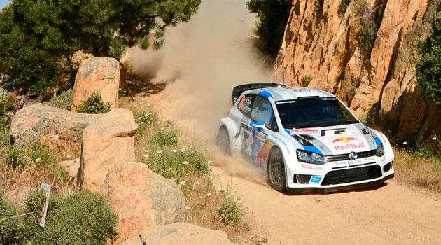 Volkswagen logra buena posición de arranque en el Rally de Italia