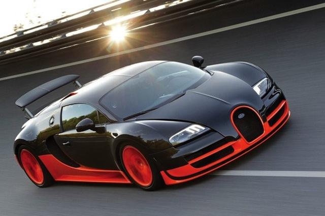 Los cinco autos más rápidos del mundo