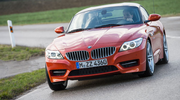 El renovado BMW Z4, se presenta en México