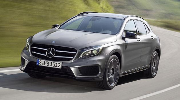 Mercedes GLA se adelanta a la presentación en Frankfurt