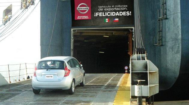 Nissan Mexicana celebra su vehículo de exportación 4 millones