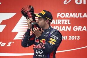 Imagen 3_ Sebastian Vettel de Infiniti Red Bull Racing gana el Gran Premio de la India