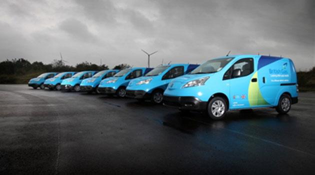 Nissan y British Gas lanzan prueba piloto de vehículos eléctricos comerciales en Reino Unido