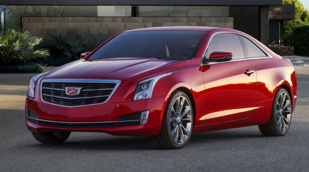 Cadillac presenta ATS Coupe 2015