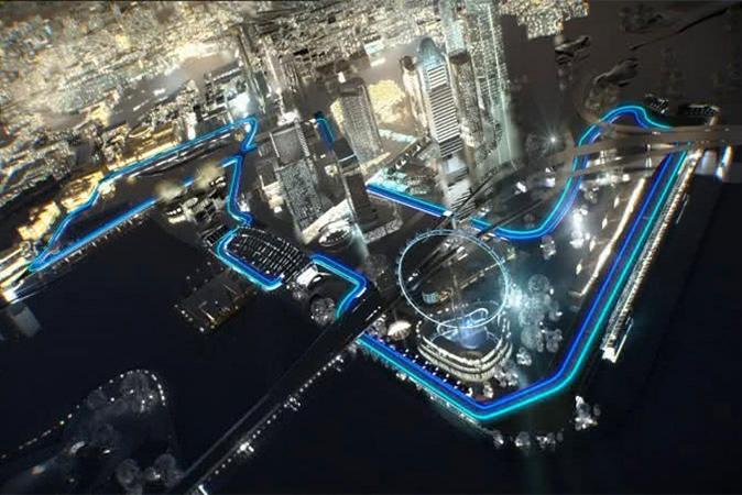 Circuito F1 Singapur : Gp de singapur memo lira