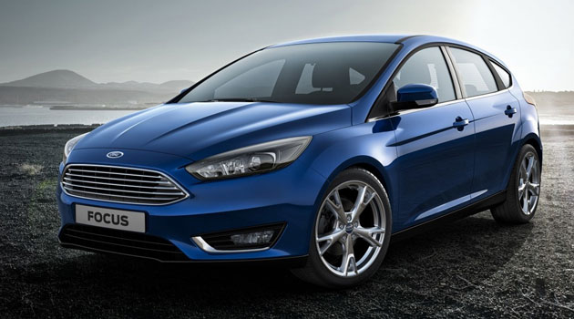 Pequeños cambios para el Ford Focus