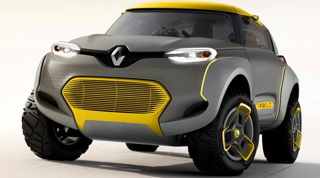 Renault Kwid diseño de Francia y la india