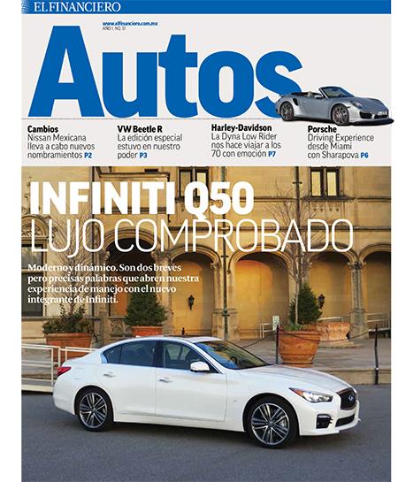 """""""Autos"""" en El Financiero"""