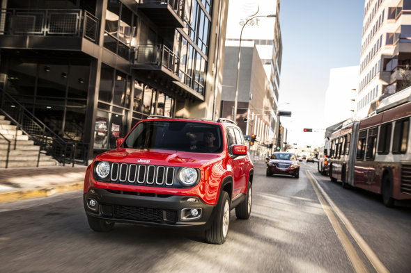 """Renegado"", compacto y potente – Jeep"