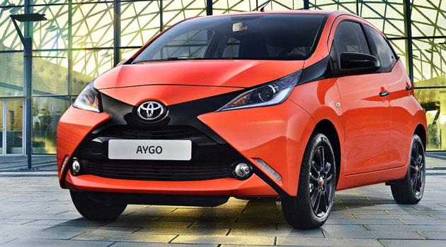 El Toyota Aygo 2014 se gana una X en Ginebra