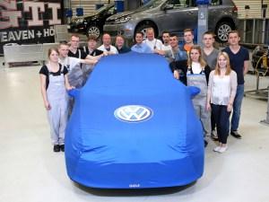 Ziel Woerthersee Auszubildende des Volkswagen Konzerns entwickeln einzigartigen Golf GTI