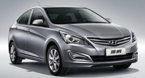 Hyundai Accent front