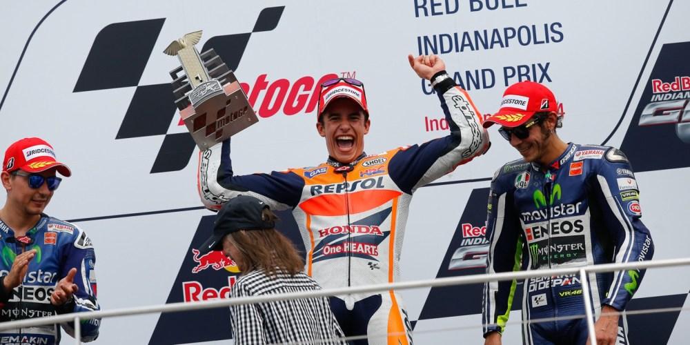 ¡Ya basta Márquez! nuevo triunfo para el español en Indianápolis