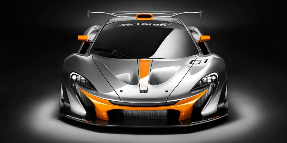 McLaren P1 GTR Design Concept, directo a las pistas