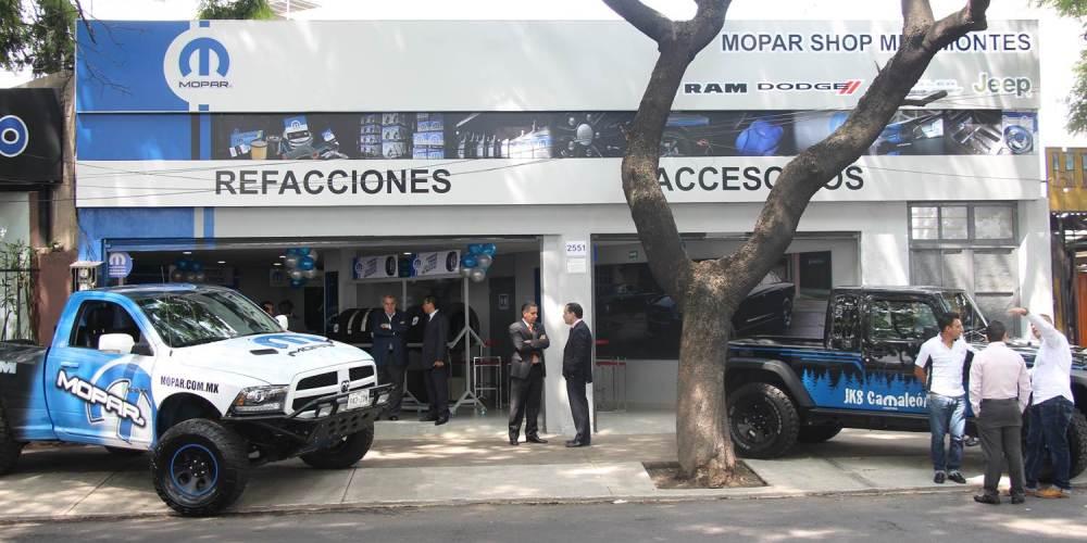 Llega Mopar Shop al Sur de la Ciudad de México