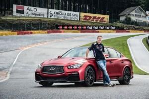 Sebastian Vettel, Infiniti?s Director of Performance and four-time Formula One World Drivers? Champion for Infiniti Red Bull Racing