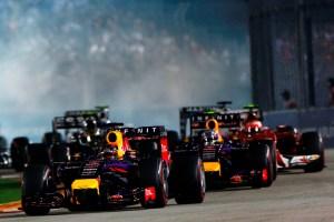 F1 Grand Prix of Singapore: Race
