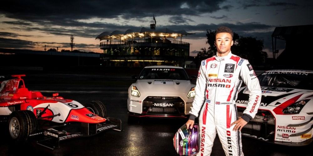 Jann Mardenborough, piloto egresado de GT Academy, se una a la élite del automovilismo deportivo