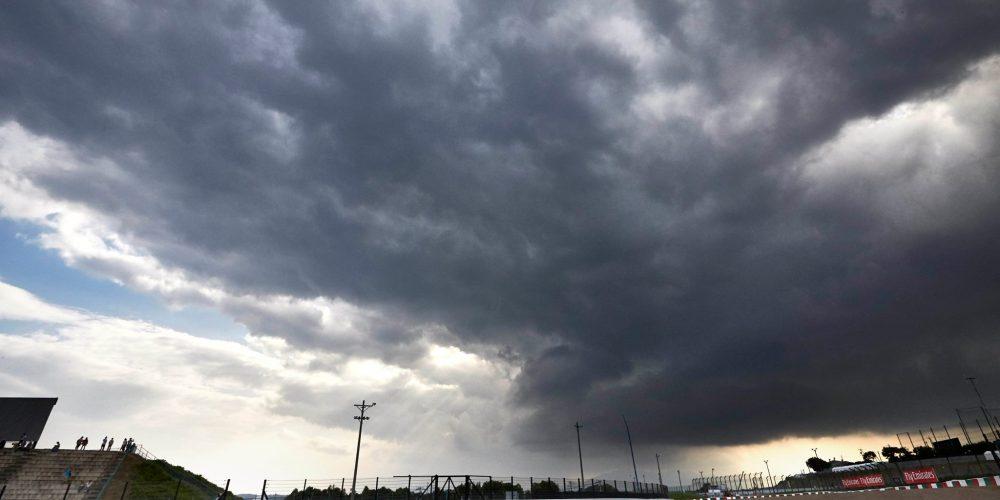 El Gran Premio de Japón es amenazado por la llegada del Tifón Phanfone