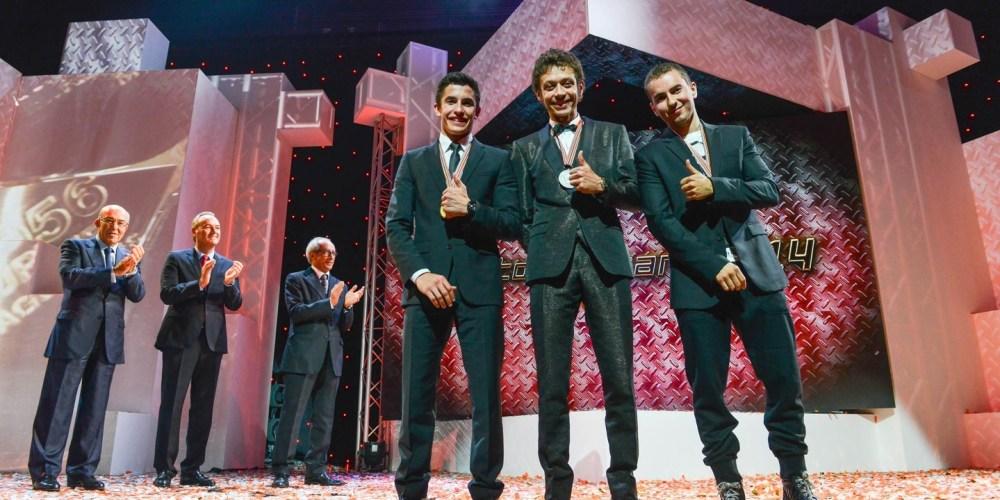 La Gala de los Premios FIM pone el cierre a la temporada 2014 de Moto GP