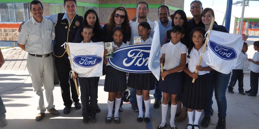 Ford celebra en México programa de voluntariado