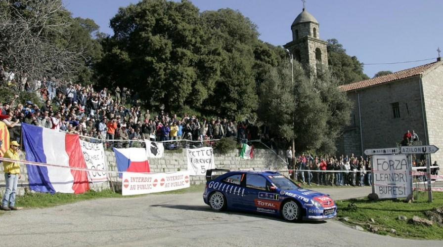 CÓRCEGA REGRESA AL CALENDARIO DEL WRC