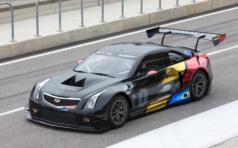 Cadillac  ATS-V.R, actitud racing