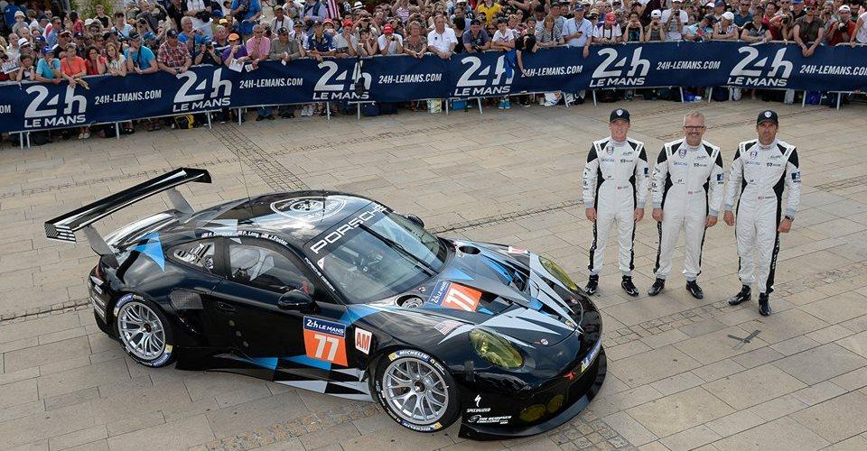 Patrick Dempsey a la espera de las 24 Hrs de Le Mans