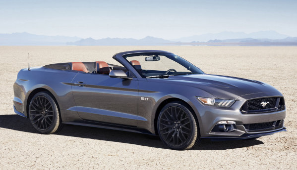 2016 Mustang GT Convertible Equipped with the Performance Package