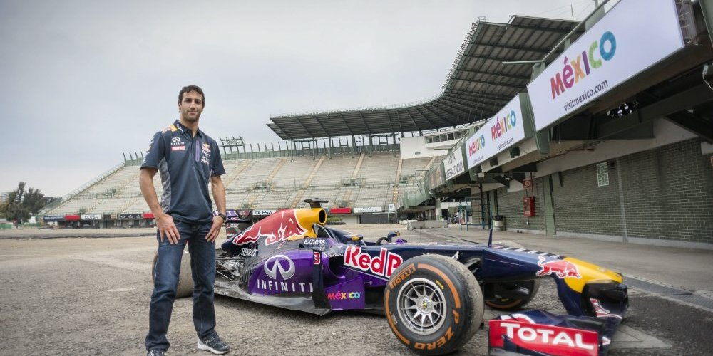 Ricciardo y Sainz en el Hermanos Rodríguez