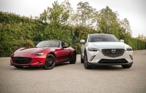 Los dos nuevos Mazda, el MX-5 acabado de llegar y Mazda CX-3 llega el 3 de diciembre, la nueva arma secreta para continuar el crecimiento en crossovers.