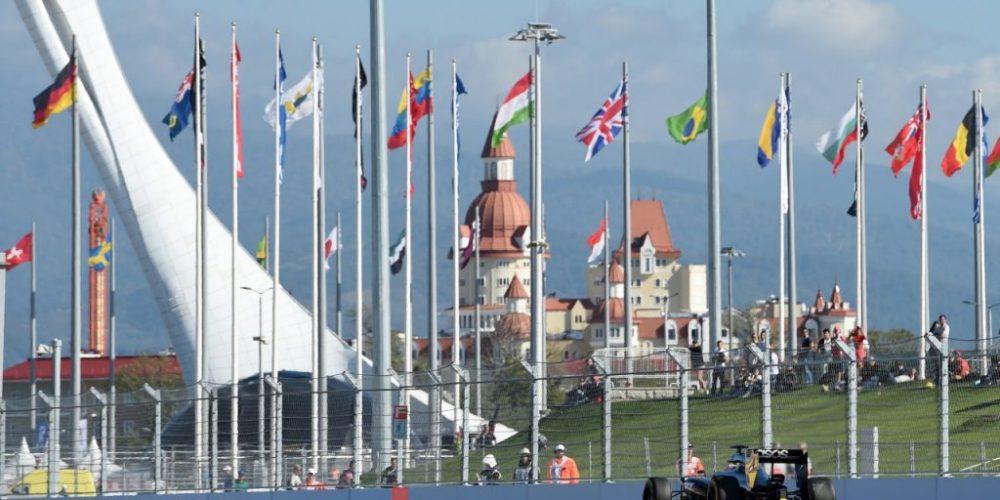 Rusia volverá a ser sede de la Fórmula 1 por segunda vez