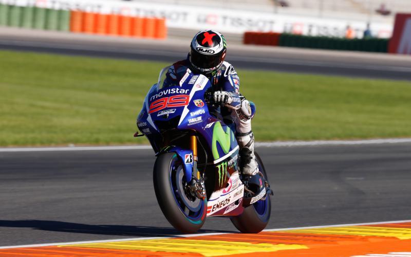 Lorenzo tras conseguir la pole, va por su tercer titulo mundial
