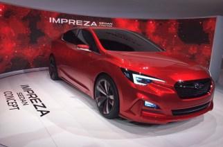Subaru Impreza Sedan Concept en Los Ángeles