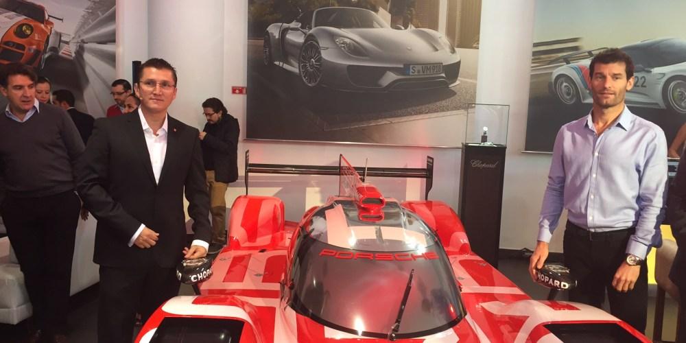Porsche: nuevo líder