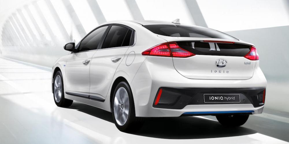 Hyundai IONIQ 2017, un híbrido muy inteligente