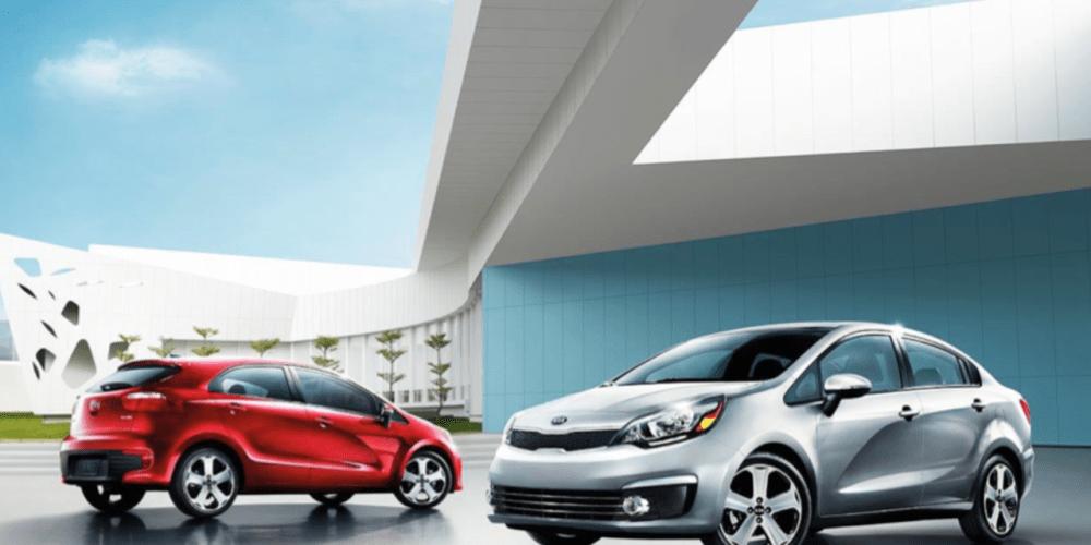 KIA Rio llega en sedán y hatchback desde 189,900 pesos.