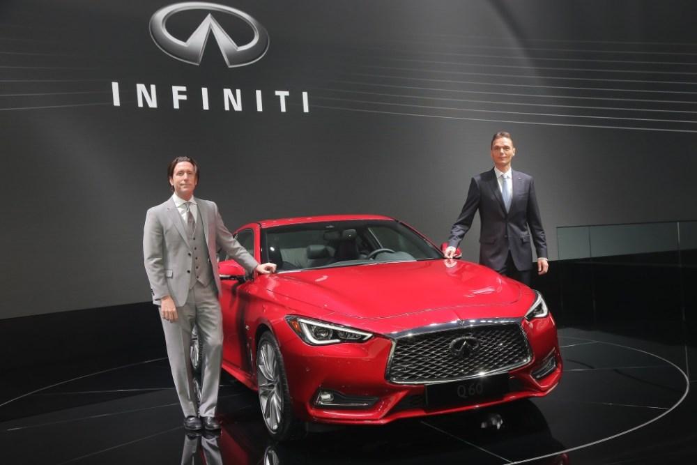 Infiniti Auto Show Ginebra
