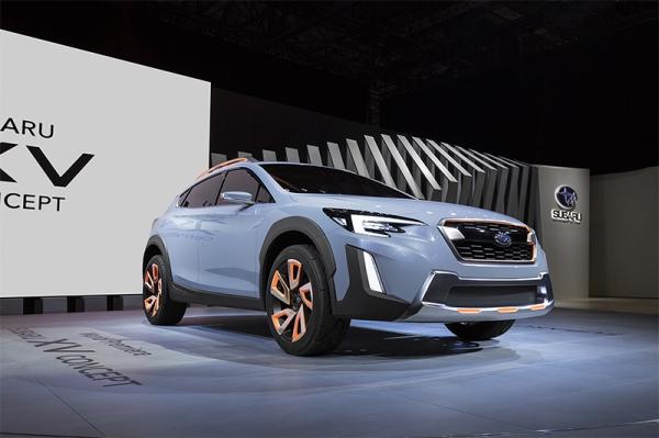 GINEBRA, Subaru XV Concept