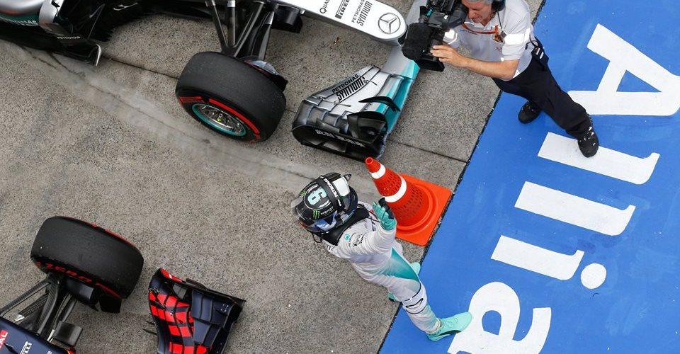 Rosberg consigue su sexta victoria consecutiva