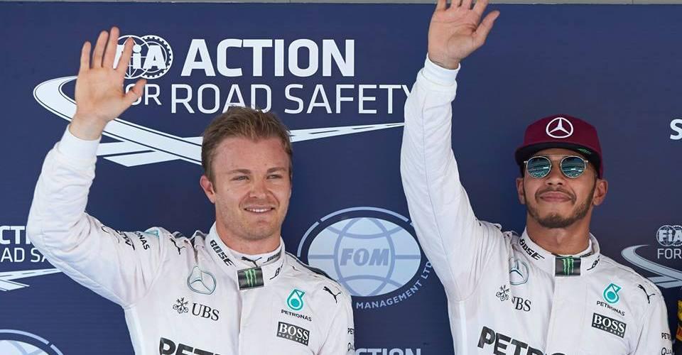 Después de una intensa batalla Hamilton consigue la pole en España